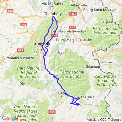 Savoie... gaz sur le barrage de Serre Ponçon
