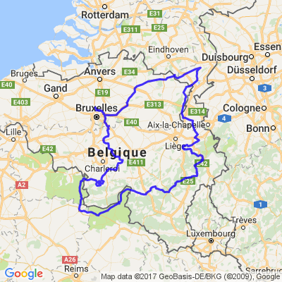 belgique hollande france