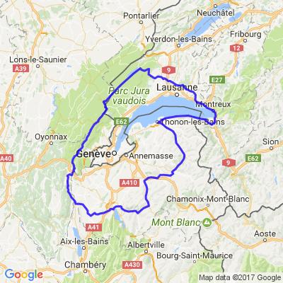 Balade entre Jura, Suisse et Haute Savoie