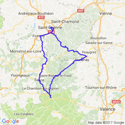 Ardèche/haute-loire/loire
