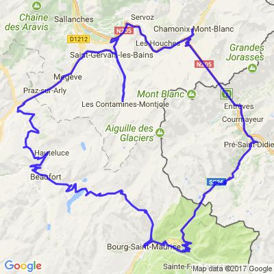 Tour du Mont Blanc par Le Petit Saint Bernard