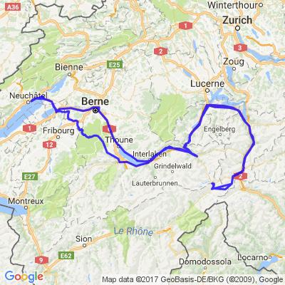 Frôler la frontière avec l'Italie