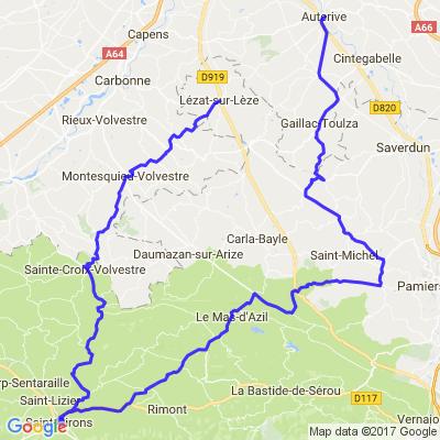 Petite rando et virolos autour de Toulouse