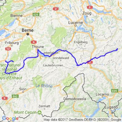 Traversée des Alpes 2ème jour