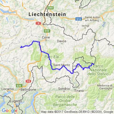 Traversée des Alpes 3ème jour