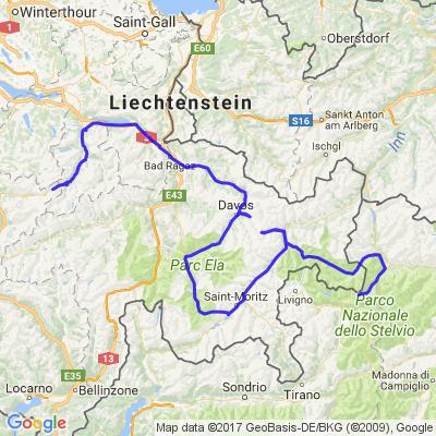 Traversée des Alpes 4ème jour