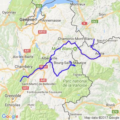 Traversée des Alpes 7ème jour