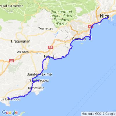Charente maritime/cote d azur (aller retour) 4