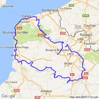 Tour du Pas De Calais