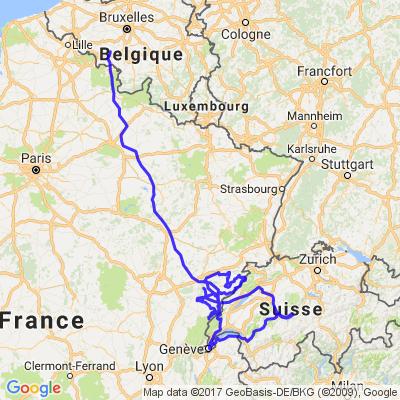 Voyage Doubs Jura 5 Jours
