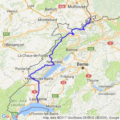 Lausanne-Basel