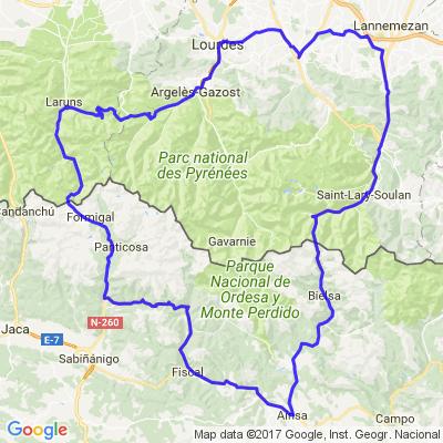 tour du parc national des Pyrénées