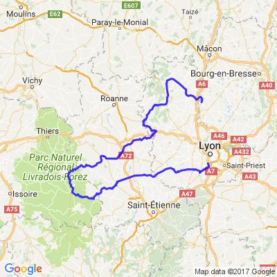 Ouest Lyonnais et Beaujolais