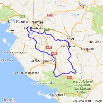 petites routes choisies en Vendée