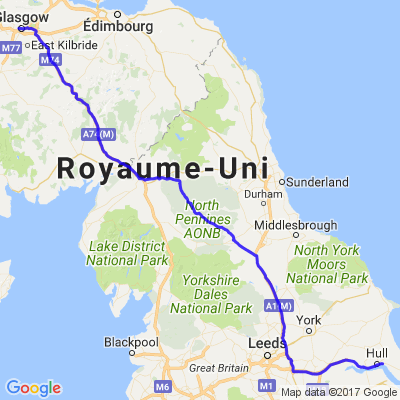 Roadtrip en Ecosse (7/7) - De Glasgow à Hull