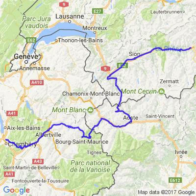 Road Trip Italie 09/2016 Etape 1 Italie