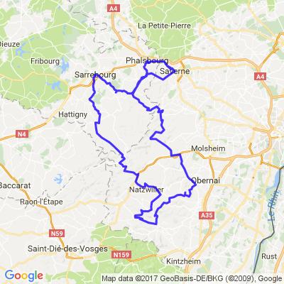 Trip Vosges