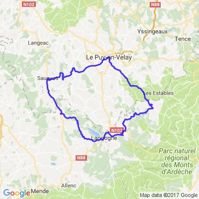 Autour du Puy en Velay (Le Sud)