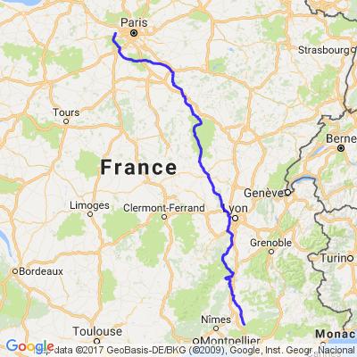 road trip en France part1 (aller)