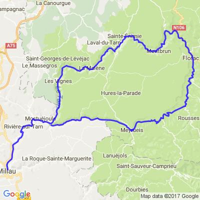 Les gorges du Tarn et de la Jonte (S)