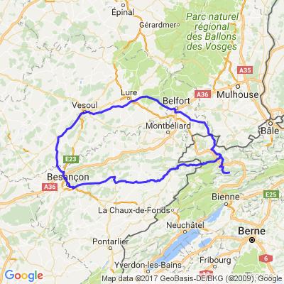 Balade Franco-Suisse