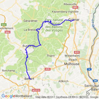 Belfort - Colmar