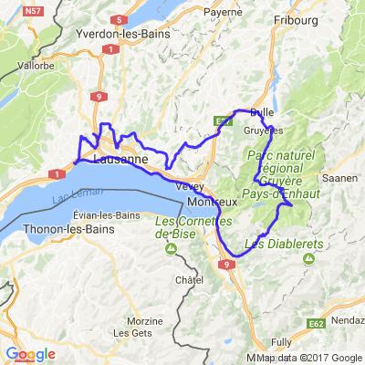 Morges-Villeneuve-Les Mosses-Gruyère-Puidoux-Le Mont-Cheseaux-Vufflens la Ville-Morges