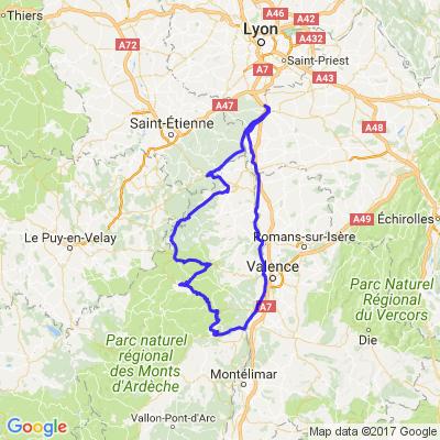 Petit tour en Ardèche