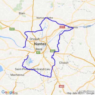 3H15 autour de Nantes (enfin, bien large)