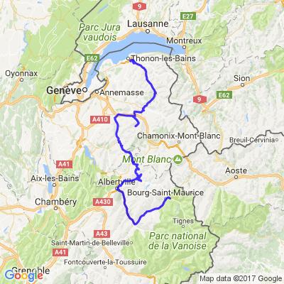Route des Grandes Alpes ETAPE 2