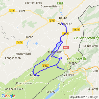 Petite visite touristique du Haut-Doubs : Source Bleue-Mont d'or-Source du Doubs