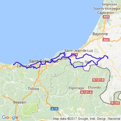 Balade Pays Basque vers Gétaria