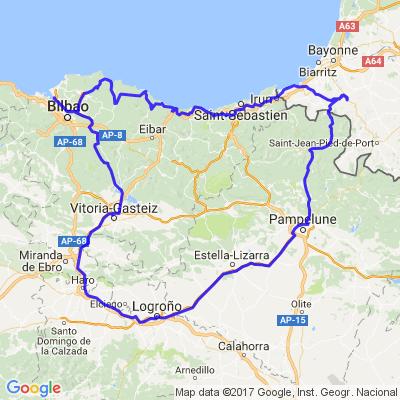 Pays Basque Espagnol avec le Rioja