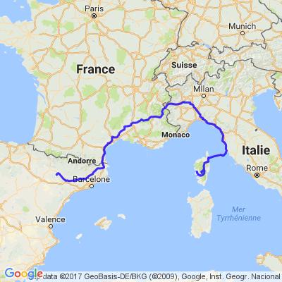 1er jour Corse