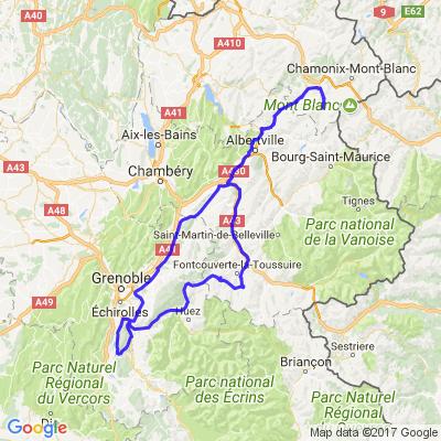 De l'Isère à la Savoie