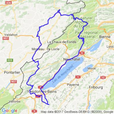 Bercher - Saint-Hippoyte (25) - Chasseral - Bercher