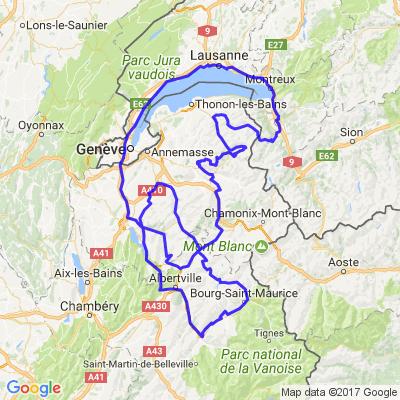 Petit tour dans les Alpes Françaises