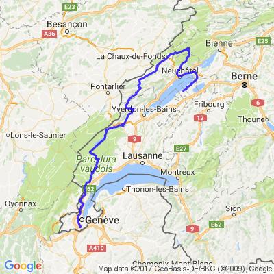 Tour en Suisse - Vendredi Après-midi
