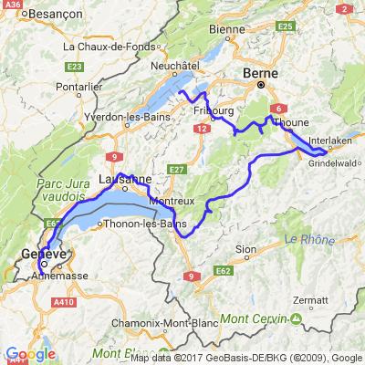 Tour en Suisse - Samedi
