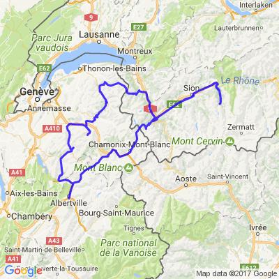 Balade en Savoie, Haute Savoie et Valais Suisse
