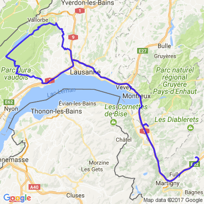 Vallée du Rhône - Lac de Joux