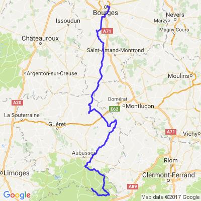 Balade en Creuse à partir de Bourges sur 2 jours - 1/2