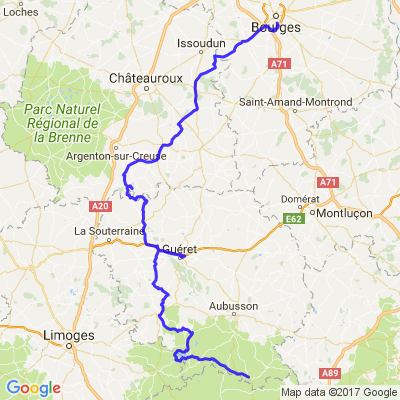 Balade en Creuse à partir de Bourges sur 2 jours - 2/2