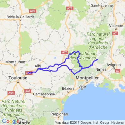 Les Gorges du Tarn, de l'Aveyron et Lozère du 03 et 04 06 2017