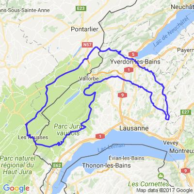 Le Jura Vaudois et le Jura Français