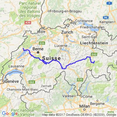 Vacances 2016 Suisse-Croatie 1