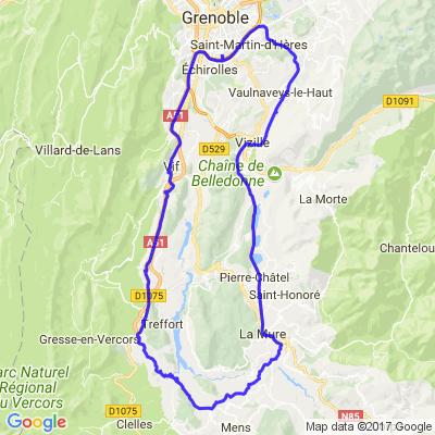 Balade en Mathésine et Trièves - Grenoble