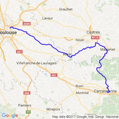 Montagne noire et Carcassonne