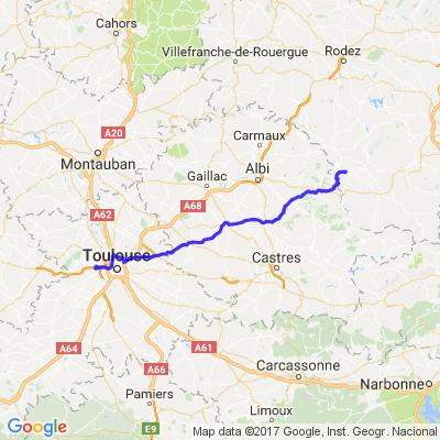 Route pour l'Aveyron