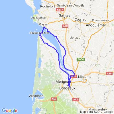 Tour de l'estuaire de la Gironde